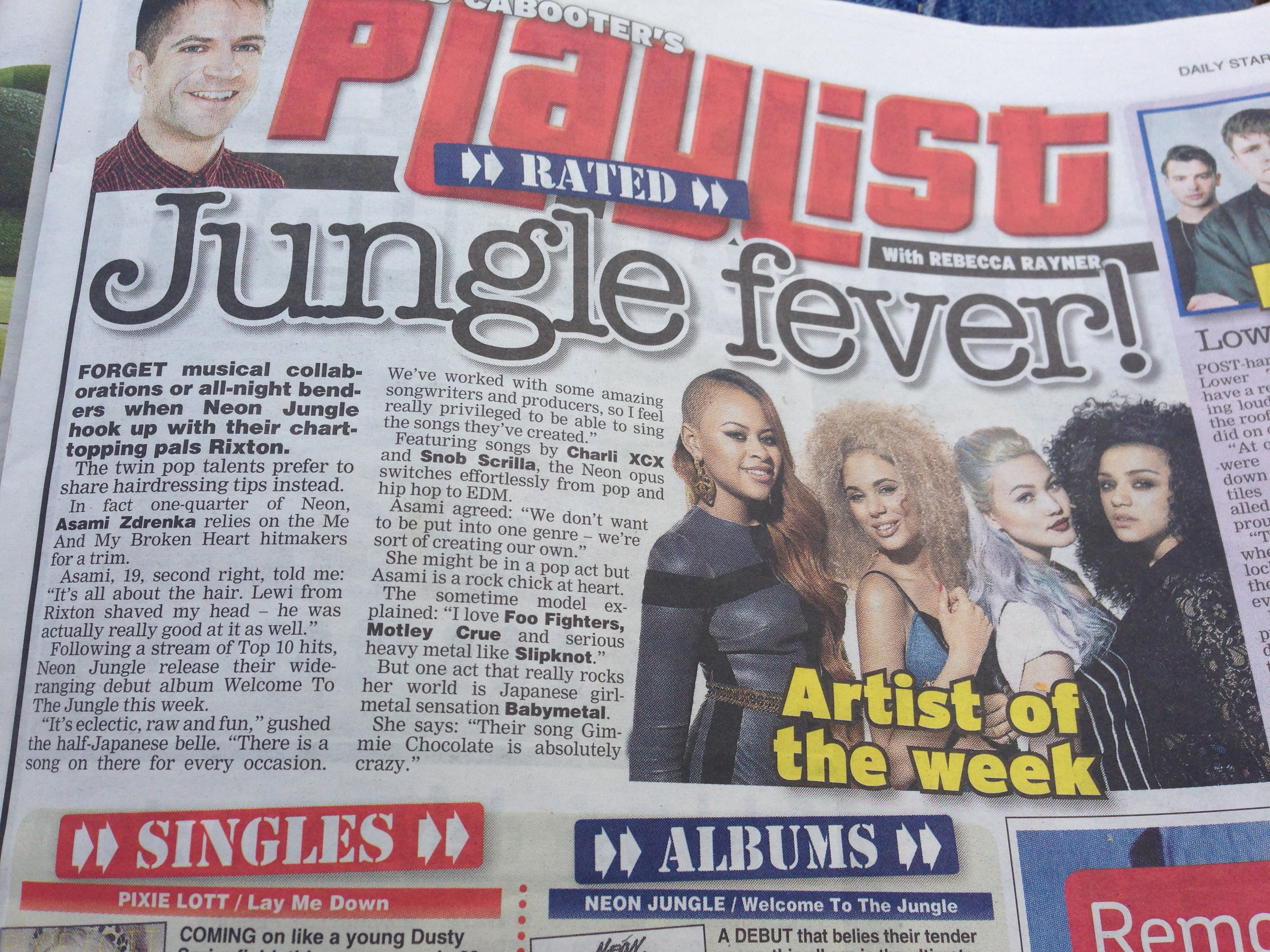 interviews rebecca rayner s portfolio q a marmozets neon jungle feature the daily star